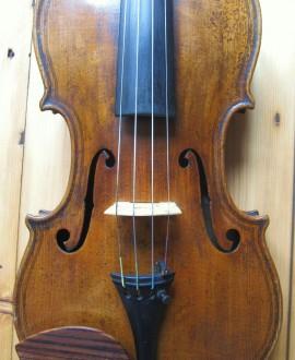 Maggini copy violin front